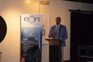 EEON and Experiential Learning Coordinator Clarence Montgomery