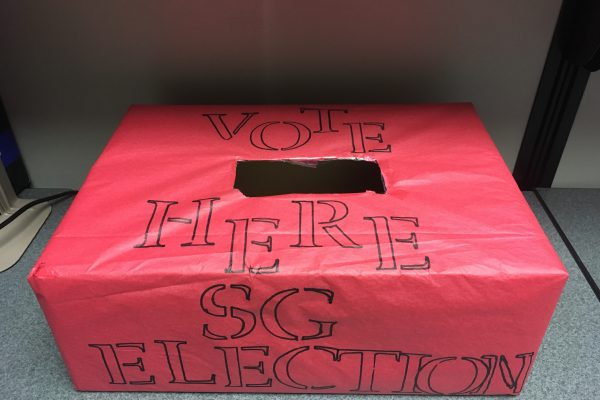 Election day is here at CCSJ! Students head to polls to elect president, v-p and others
