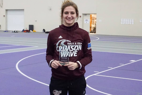Harley Sutton Named CCAC Indoor Field Athlete of the Year
