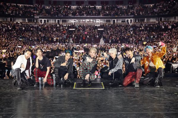 The Avengers of Kpop Assemble at the United Center