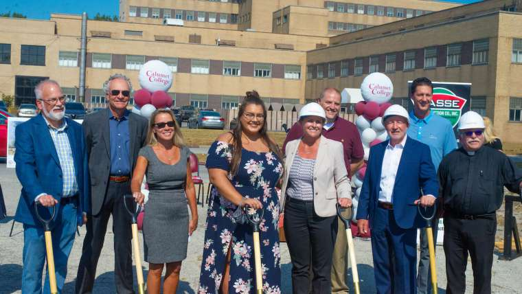 CCSJ Breaks Ground on First Residence Hall